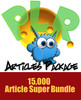 Monster PLR Articles Package 15000 Articles
