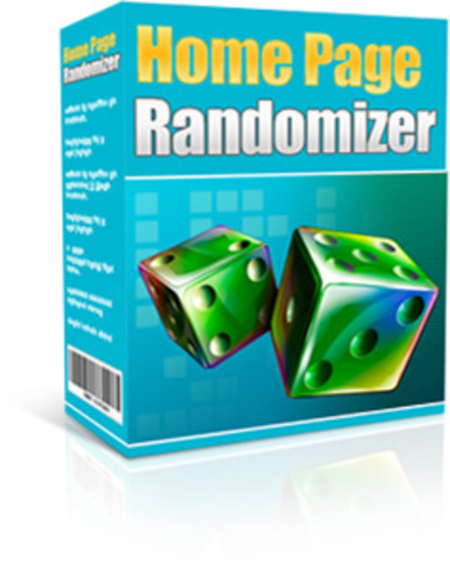Product picture Home Page Randomizer  2014